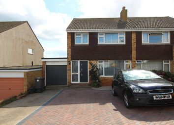 Thumbnail 3 bed semi-detached house to rent in Hennock Road, Paignton