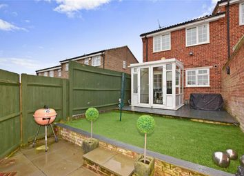Thumbnail 3 bedroom semi-detached house for sale in Gatcombe Close, Walderslade, Chatham, Kent