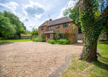 Thumbnail 4 bedroom detached house for sale in Highams Lane, Chobham, Woking, Surrey