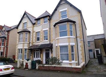 Thumbnail 1 bed flat to rent in Lawson Road, Colwyn Bay