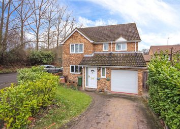 Thumbnail 4 bed detached house for sale in Darwin Close, St. Albans, Hertfordshire