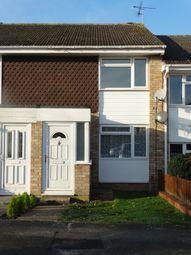 Thumbnail 2 bed terraced house to rent in Stanley Close, Staplehurst, Tonbridge