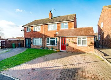 Thumbnail 4 bed semi-detached house for sale in Fullers Close, Bearsted, Maidstone, Kent