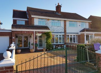 Thumbnail 4 bedroom semi-detached house for sale in Kader Avenue, Acklam, Middlesbrough