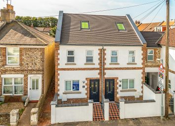 Thumbnail 3 bedroom semi-detached house for sale in Becket Road, Worthing
