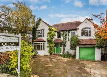 Thumbnail 5 bed detached house for sale in Glebe Road, South Cheam, Sutton