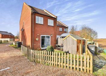 Thumbnail 2 bed end terrace house for sale in Hares Close, Little Snoring, Fakenham