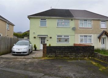 Thumbnail 3 bedroom semi-detached house for sale in Gethin Close, Swansea