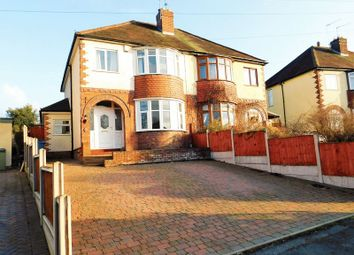 Thumbnail 3 bed semi-detached house for sale in Coton Avenue, Stafford