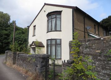 Thumbnail 3 bed end terrace house for sale in Beaufort Road, Sirhowy, Tredegar