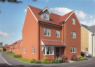 Thumbnail 5 bedroom detached house for sale in Bridgewater Drive, Abington, Northampton