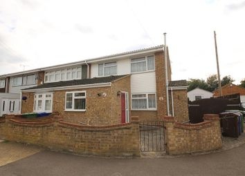 Thumbnail 3 bed end terrace house for sale in Solway, East Tilbury, Tilbury