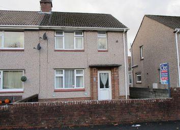 Thumbnail 2 bedroom semi-detached house for sale in Glantwrch, Ystalyfera, Swansea