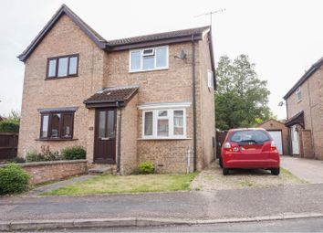 Thumbnail 2 bed semi-detached house for sale in Manor Road, Stilton