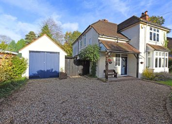 Thumbnail 4 bed detached house for sale in Moore Road, Church Crookham, Fleet