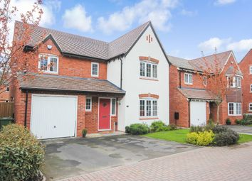 Thumbnail 4 bed detached house for sale in Beech Lane, Dickens Heath, Solihull