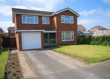 Thumbnail 4 bed detached house for sale in St. Marys Close, Weston, Spalding