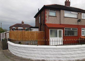 Thumbnail 3 bed semi-detached house for sale in Westcliffe Road, Liverpool, Merseyside