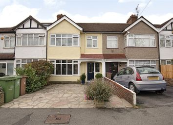 Thumbnail 3 bed terraced house for sale in Burleigh Road, Sutton, Surrey