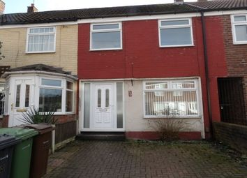 Thumbnail 3 bed property to rent in William Wall Road, Liverpool