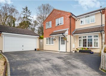 Thumbnail 4 bed detached house for sale in Stewart Drive, Loughborough