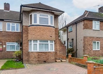 Thumbnail 3 bed flat for sale in Byards Croft, London