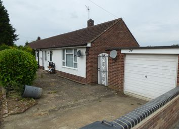 Thumbnail 2 bed bungalow for sale in New Road, Bromham, Bedford