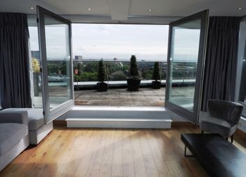 Thumbnail 2 bed flat to rent in Lumiere Building, 38 City Road East, Manchester