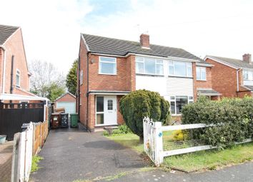 Thumbnail 3 bed semi-detached house for sale in The Meadows, Shepshed, Leicestershire