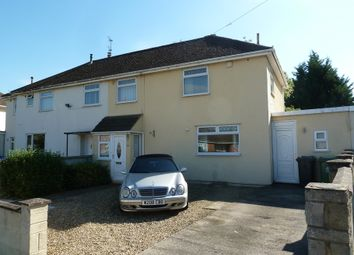 Thumbnail 3 bed semi-detached house for sale in Meadowleaze, Longlevens, Gloucester