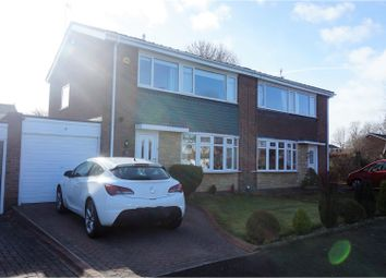 Thumbnail 3 bed semi-detached house for sale in Highfield Place, Newcastle Upon Tyne