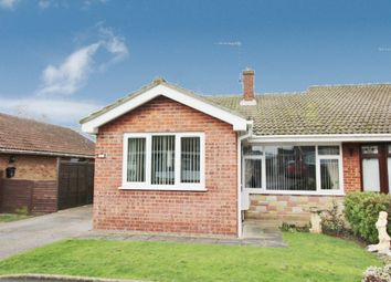 Thumbnail 2 bed bungalow for sale in Seafield Road North, Caister-On-Sea