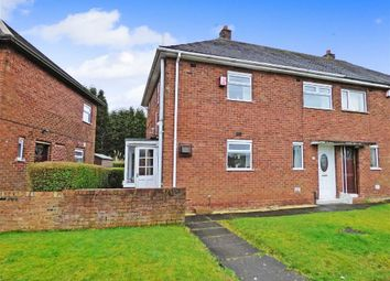 Thumbnail 2 bedroom semi-detached house for sale in Trowbridge Crescent, Bentilee, Stoke-On-Trent