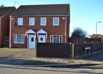 Thumbnail 3 bed semi-detached house to rent in Fenside Road, Boston