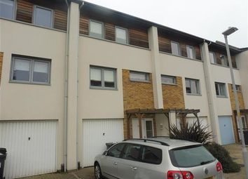 Thumbnail 3 bed town house to rent in Broomhill Way, Hamworthy, Poole