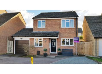 Thumbnail 4 bed detached house for sale in Alderley Close, Carterton