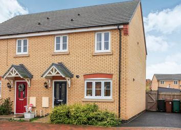 Thumbnail 3 bedroom semi-detached house for sale in Lucina Drive, Peterborough