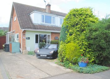 Thumbnail 4 bed semi-detached house for sale in Oakleigh Close, Raunds, Wellingborough