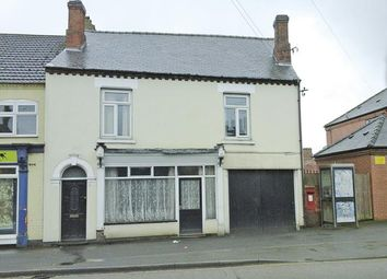 Thumbnail End terrace house for sale in High Street, Newhall, Swadlincote