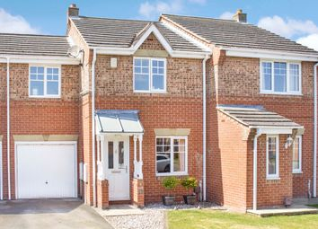 Thumbnail 3 bed terraced house for sale in Leadley Croft, Copmanthorpe, York
