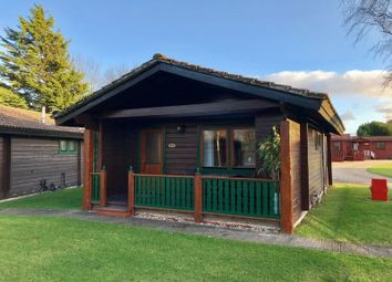 Thumbnail 2 bedroom lodge for sale in Sidmouth Road, Rousdon, Lyme Regis