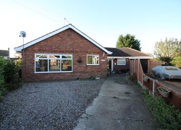 Thumbnail 5 bedroom detached bungalow for sale in The Close, Hemsby, Great Yarmouth