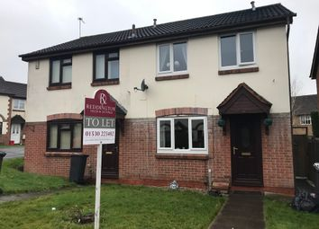 Thumbnail 3 bed semi-detached house to rent in Victoria Close, Whitwick, Coalville