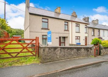Thumbnail 3 bedroom end terrace house for sale in Bryncir, Garndolbenmaen, Gwynedd, .