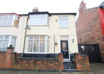 Thumbnail 3 bedroom semi-detached house for sale in Briardale Road, Mossley Hill, Liverpool