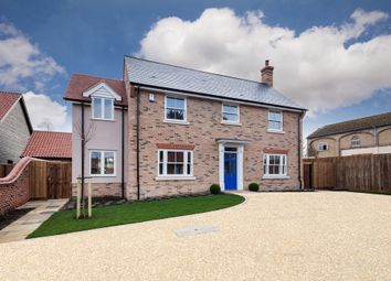 Thumbnail 4 bed detached house for sale in The Lanes, Great Wilbraham, Cambridge