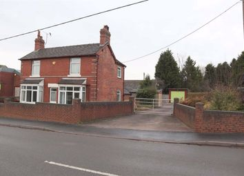 Thumbnail 3 bed detached house for sale in The Green, Cheadle, Stoke-On-Trent