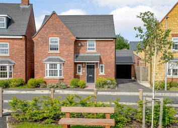 Thumbnail 3 bed detached house for sale in Brooks Drive, Harbury, Leamington Spa, Warwickshire