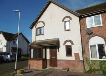 Thumbnail 1 bed terraced house to rent in Annesley Close, Sawtry, Huntingdon