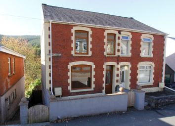 Thumbnail 2 bed semi-detached house for sale in Morgans Terrace, Pontrhydyfen